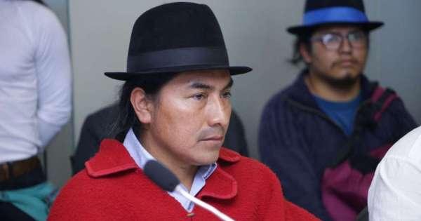Leonidas Iza amenaza con justicia indígena a Sonnenholzner - Ecuavisa