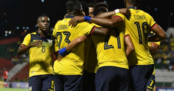 Ecuador venció con facilidad a Trinidad y Tobago - Ecuavisa