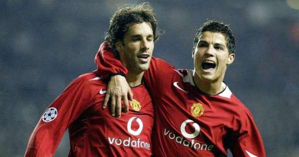 Van Nistelrooy hizo llorar a Cristiano Ronaldo