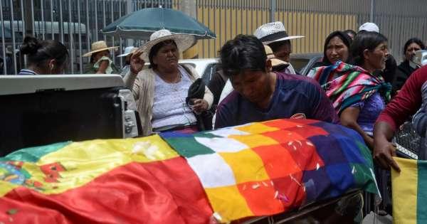 CIDH: 23 muertos en casi un mes de protestas en Bolivia
