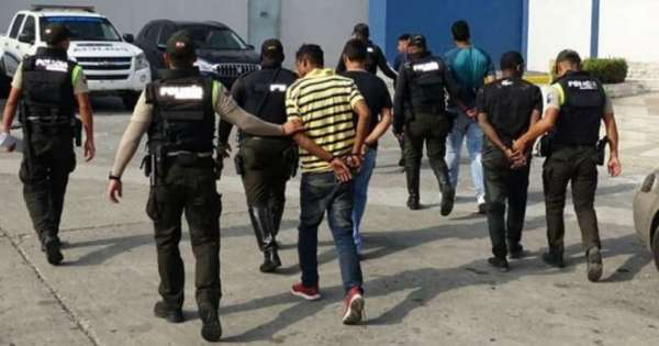 Delincuentes con récord de detenciones en Ecuador están libres
