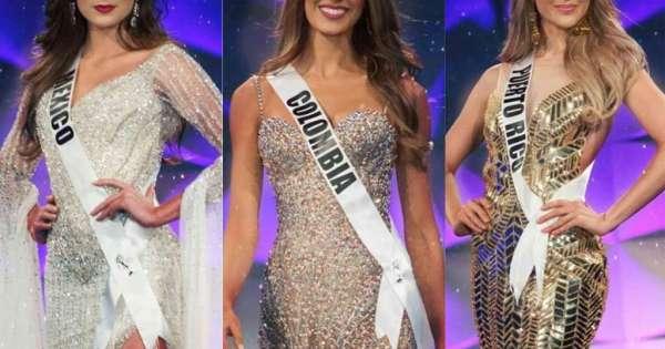 México, Colombia y Puerto Rico, entre las diez finalistas de Miss Universo