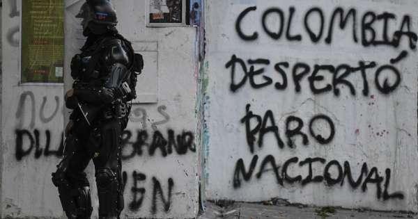 Líderes de protestas en Colombia convocan a nueva marcha