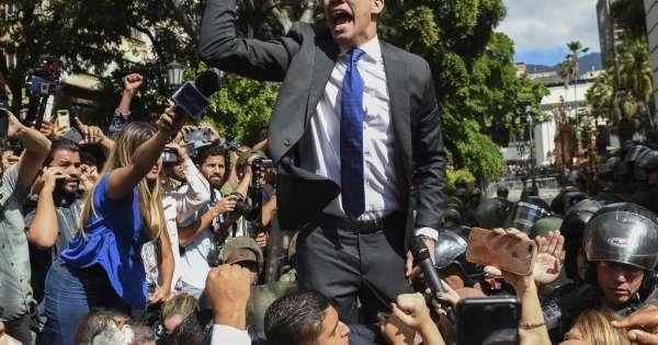 Guaidó viajó a Colombia para reunirse con Pompeo, pese a prohibición de salida
