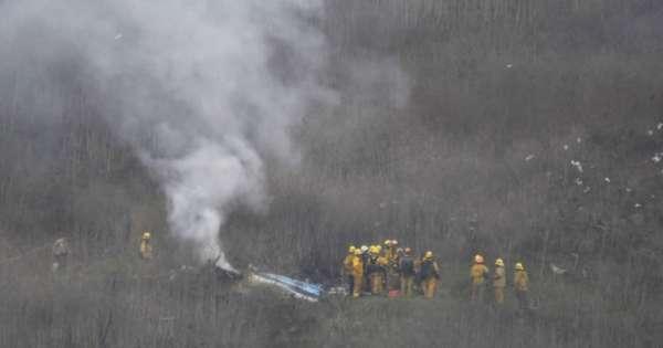 Filtran fotos de cómo quedó el helicóptero de Kobe Bryant
