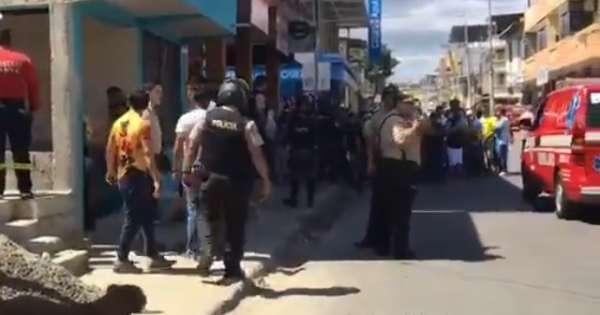 Dos mujeres baleadas en el barrio Jocay de Manta