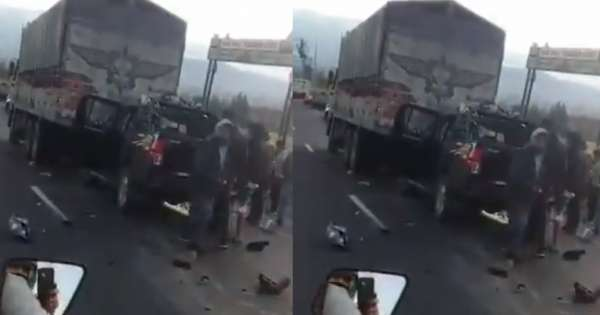 Dos peruanos mueren en accidente de tránsito en Ambato