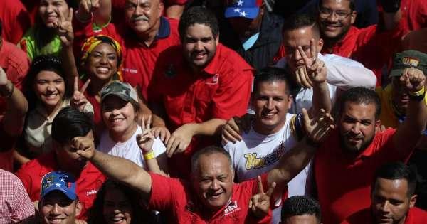 Cabello: tío de Guaidó fue detenido por trasladar explosivos en avión