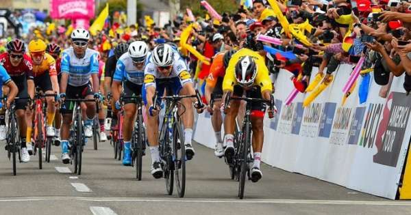 Jonathan Caicedo, tercero en la general del Tour Colombia