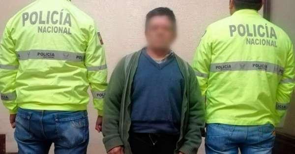Prófugo desde 2016 fue capturado por la violación de su hijastra