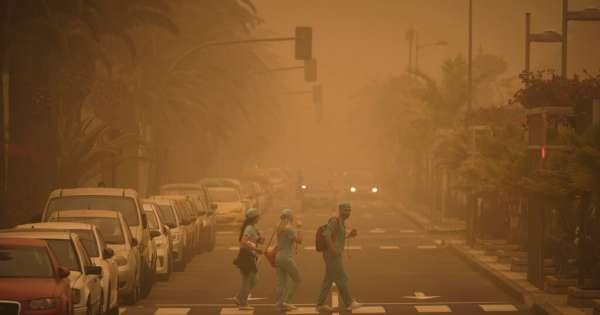 España: Cierran aeropuerto de Islas Canarias por tormenta