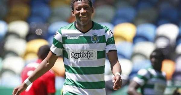 Gonzalo Plata anota su primer gol con Sporting Lisboa