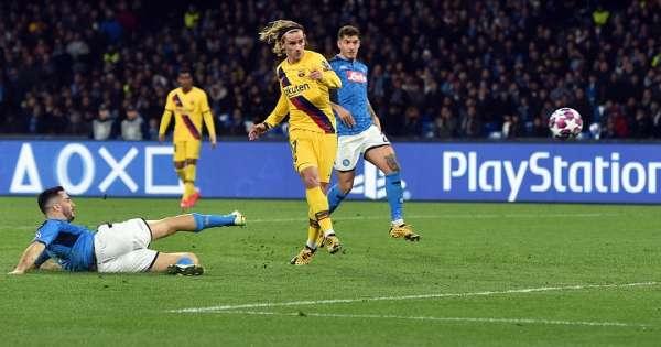 Napoli y Barcelona empatan en la ida de octavos de Champions