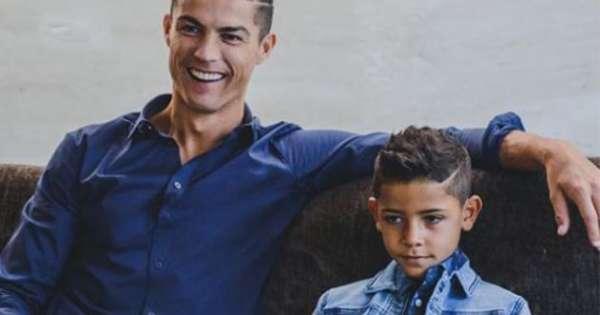 Hijo de Cristiano se abre Instagram hablando en cuatro idiomas