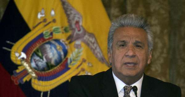 Presidente Moreno decreta restricción de circulación de personas y suspende actividad comercial