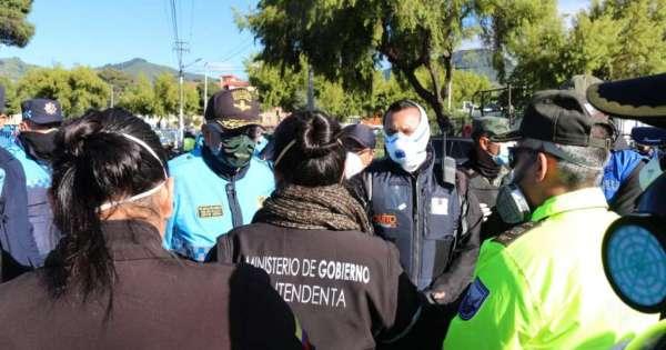 Ciudadanos irrumpen en el Mercado Mayorista de Quito