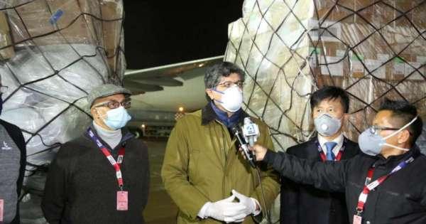 Banco de Desarrollo de China dona 18 respiradores a Ecuador