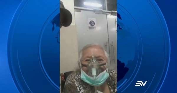 Coronavirus: halla el cadáver de su madre tras 2 meses de búsqueda en Guayaquil