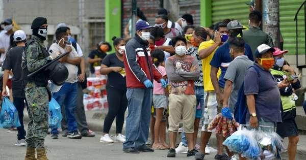 Aseguran que hay inmunidad transitoria de COVID en Guayaquil