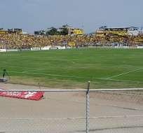 Estadio 9 de Mayo de la ciudad de Machala.