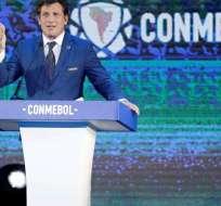 Así lo dijo Alejandro Domínguez, presidente de la Conmebol, en una entrevista radial. Foto: Archivo