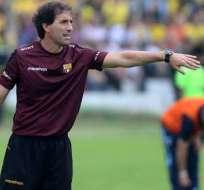 Guillermo Almada, exentrenador de Barcelona SC.