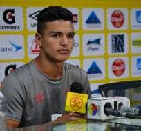 Alexander Alvarado, una de las figuras de Ecuador sub 20.