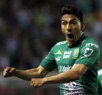 El delantero ecuatoriano ha tenido un gran inicio de año. Foto: GUSTAVO BECERRA / AFP