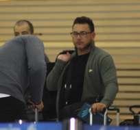 Antonio Mohamed habló sobre Emelec a su llegada a Guayaquil para el duelo del jueves. Foto: Tomada de @CAHuracan