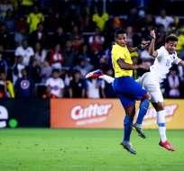 El ecuatoriano dijo que el M. United tomó una buena decisión al extenderle el contrato. Foto: Harry Aaron / GETTY IMAGES NORTH AMERICA / AFP