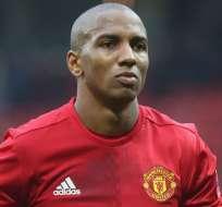 Ashley Young, figura del Manchester United.