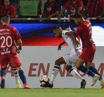 El equipo brasileño cayó 4-1 ante Cerro Porteño en Paraguay. Foto: NORBERTO DUARTE / AFP