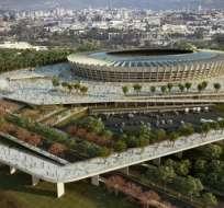 Estadio de la ciudad de Belo Horizonte.