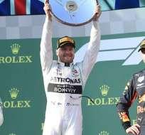 Bottas en el Gran Premio de Australia.