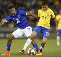Amistoso jugado anteriormente entre Brasil y Panamá.