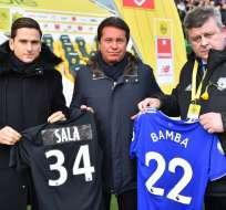 Así lo informó el club mediante un comunicado. Foto: LOIC VENANCE / AFP