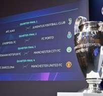 El FC Barcelona-M. United y Tottenham-M. City son los duelos más atractivos. Foto: Fabrice COFFRINI / AFP