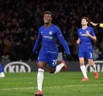 Jugadores del Chelsea en el festejo de uno de sus goles.