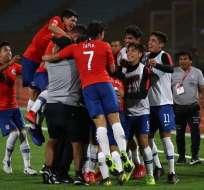 Chile se clasificó al Mundial de Brasil 2019. Foto: Twitter Sudamericano.
