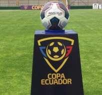 Balón con el que se juega la Copa Ecuador.