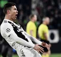 El delantero portugués ya fue multado con 20.000 euros y podría tener otra sanción. Foto: Marco BERTORELLO / AFP