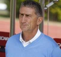 El entrenador argentino se encuentra en Quito tras terminar su trabajo en Rosario Central. Foto: Archivo