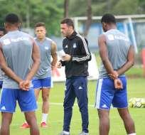 Los 'azules' enfrentarán al Sporting Cristal en el estadio George Capwell. Foto: API
