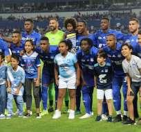 Los 'azules' jugaron con futbolistas que no habían actuado hasta el momento. Foto: API