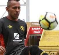 Enson Rodríguez, talentoso jugador de Aucas.