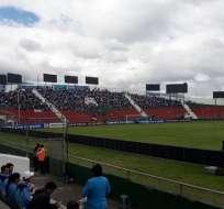 Estadio Bellavista de la ciudad de Ambato.