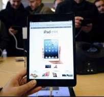 EE.UU. niega a Apple la patente del iPad mini. Foto: EFE