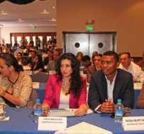 QUITO, Pichincha.- Los 100 asambleístas de Alianza PAÍS electos se reunen durante el último taller del legislativo. Foto: API.