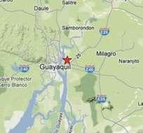 Sismo de 4,7 grados se sintió en la ciudad de Guayaquil.