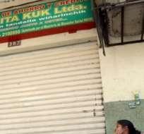 Presentan dictamen acusatorio contra gerente y dos empleados de Makita Kuk. Foto: Archivo